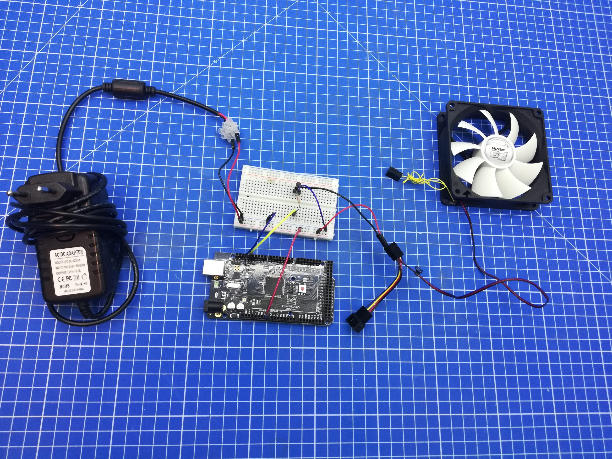 Arduino fan controller Nerd Corner