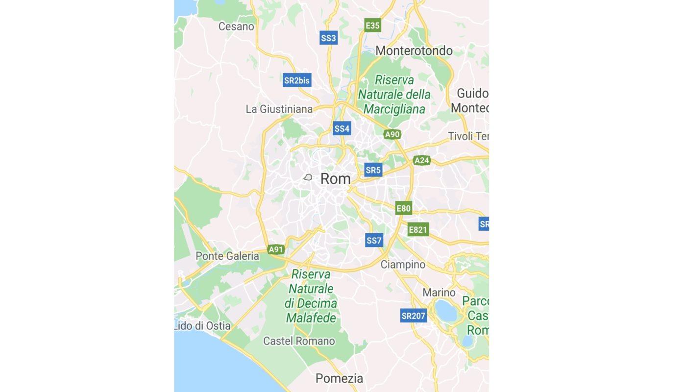 Screenshot Nerd Corner Google Maps in App
