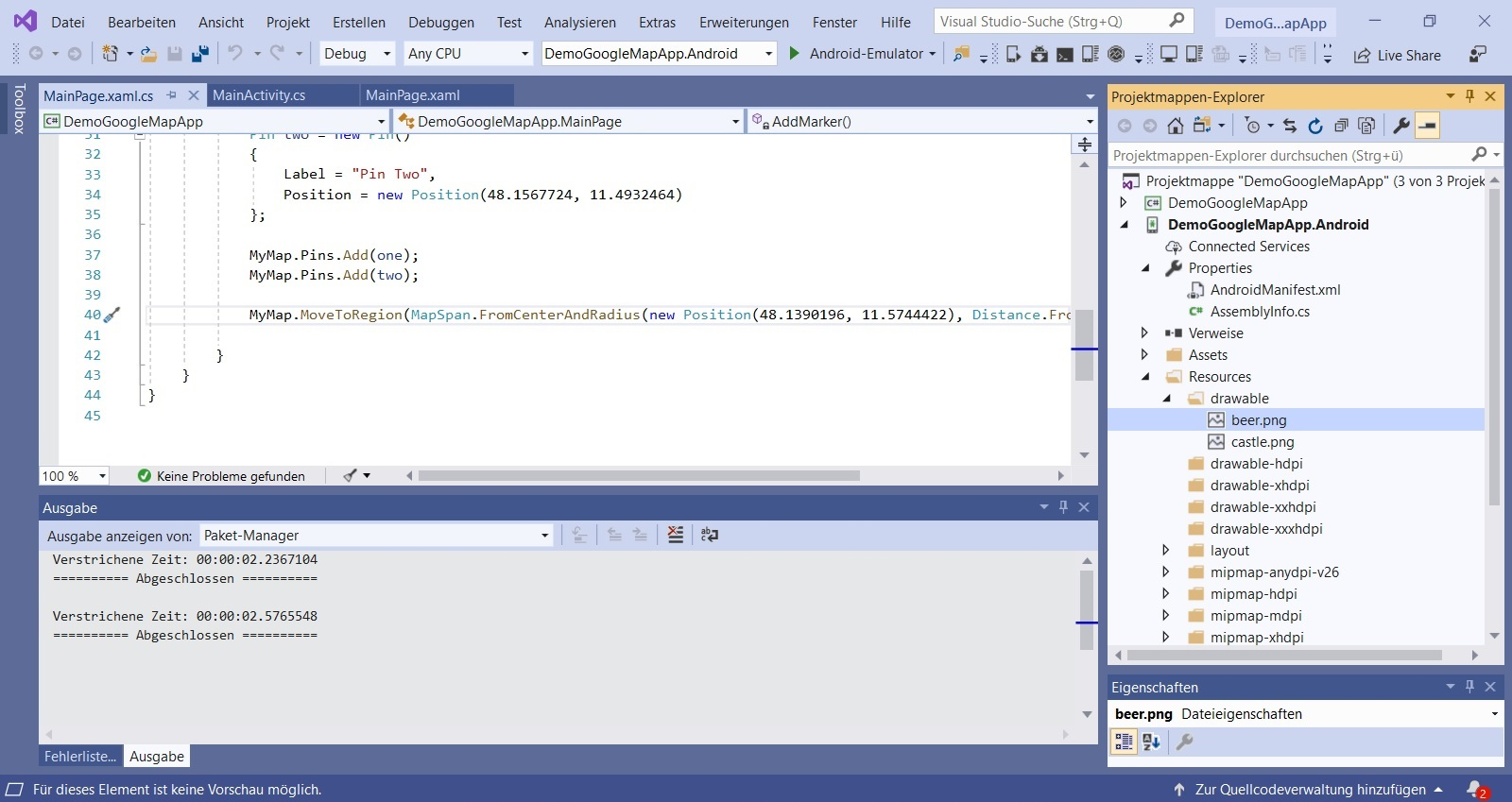 Visual Studio Xamarin how to integrate icons in the drawable folder Nerd Corner