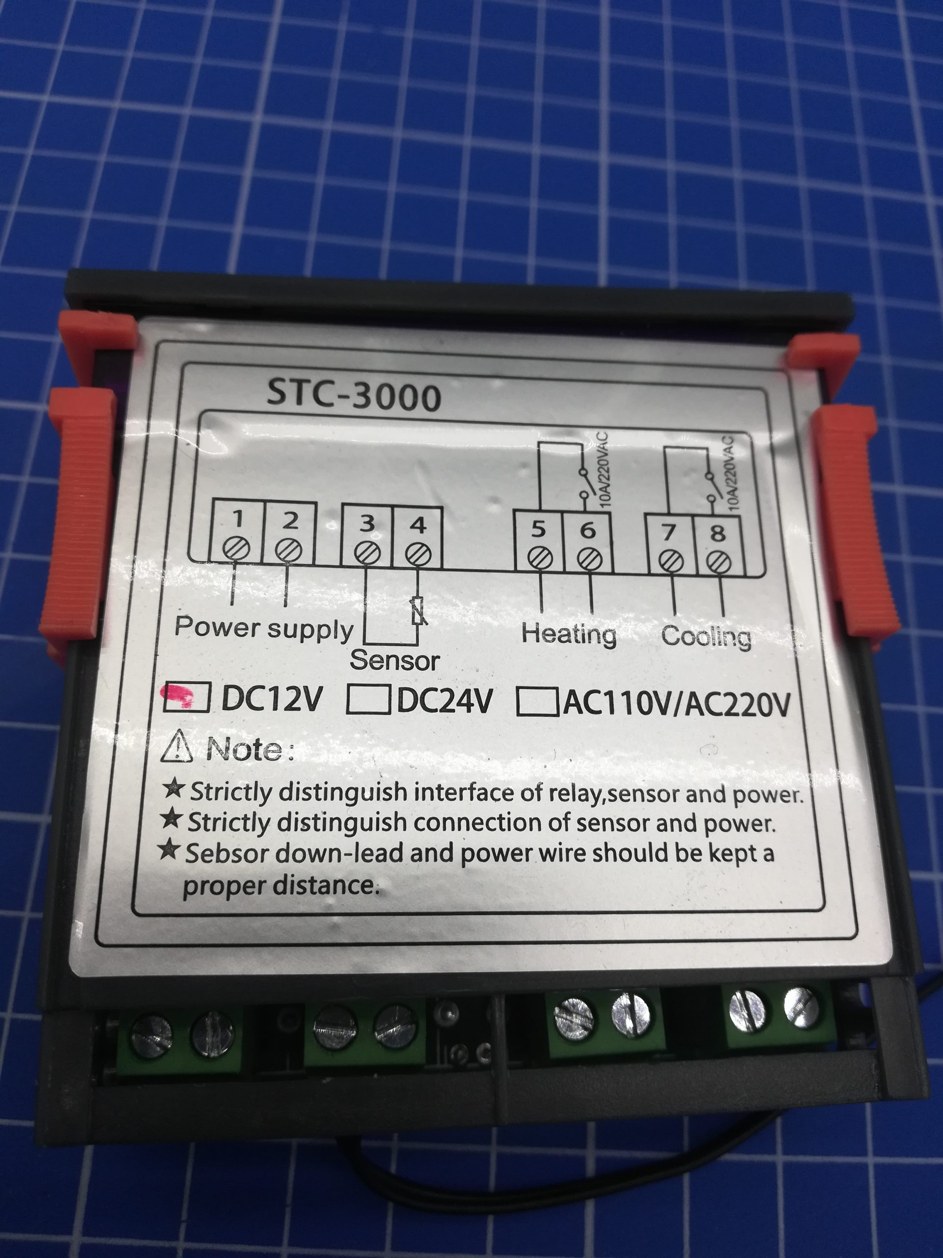 STC 3000 Power supply and wiring Nerd Corner