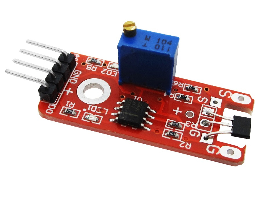 Hall sensor KY024 KY-024 KY 024 arduino code