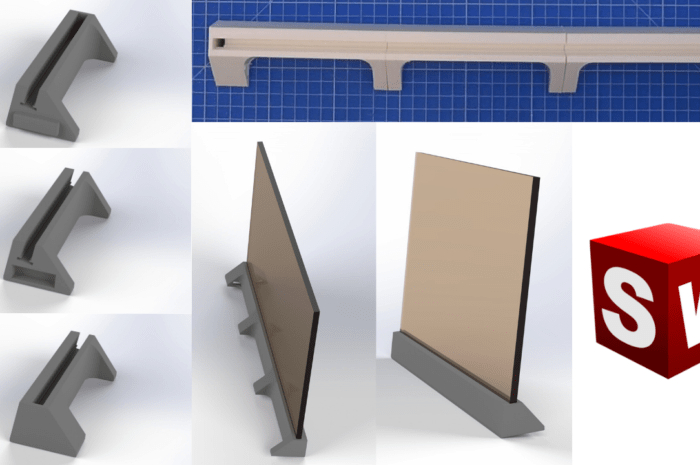 SolidWorks – Stand design and 3D print