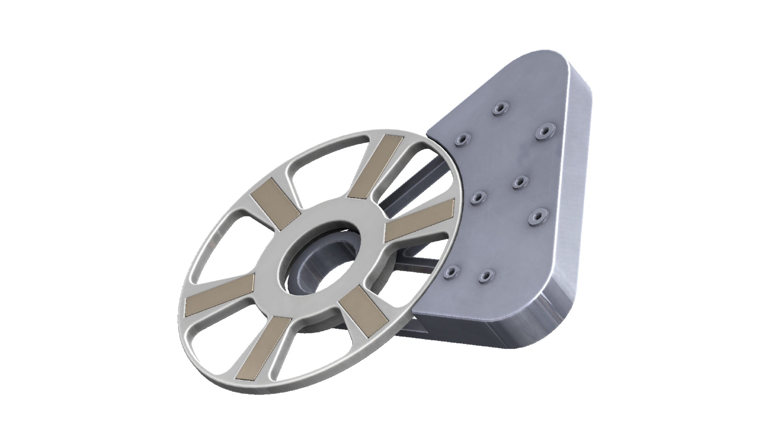 magnet wheel for movement detection