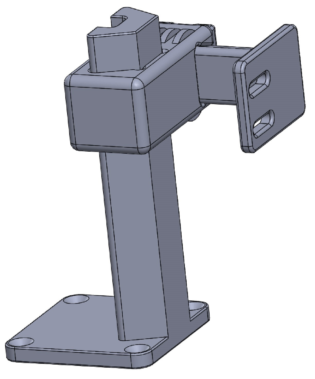 2 adjustable axis CAD design