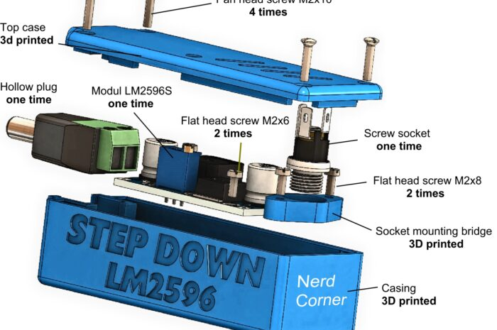 Step-down Modul DC-DC LM2596S