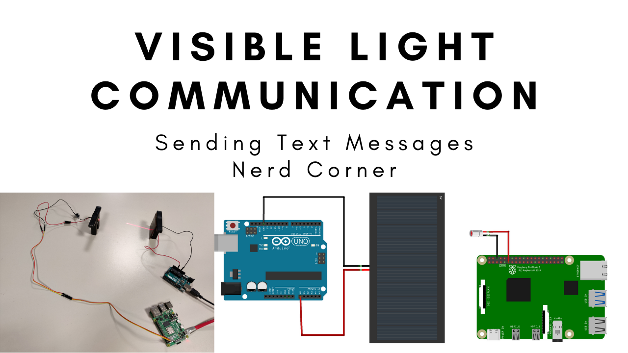 Visuelle Lichtkommunikation