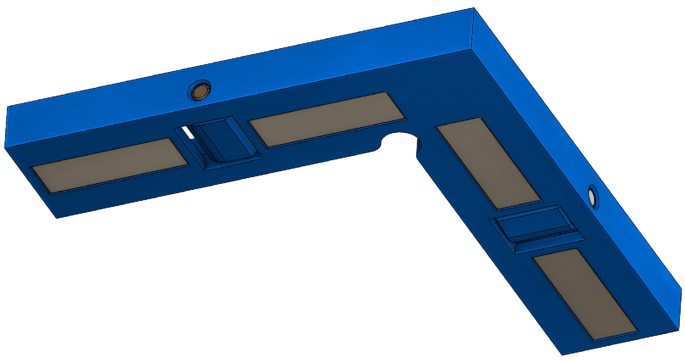 Winkel mit Magneten