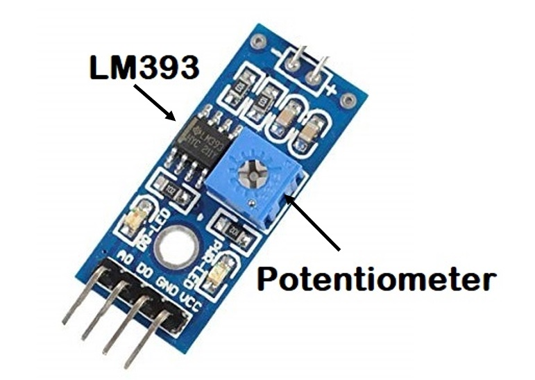 ADC Board mit LM393 Komparator