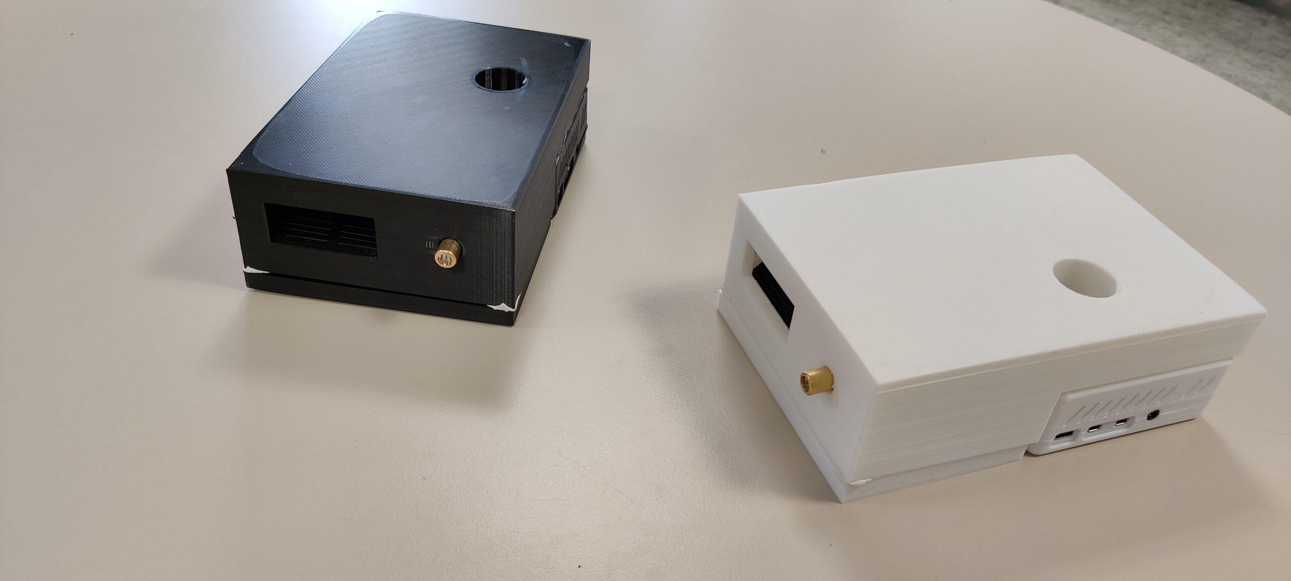 Datenübertragung per Licht Gehäuse Lifi VLC Datentransfer mittels VLC