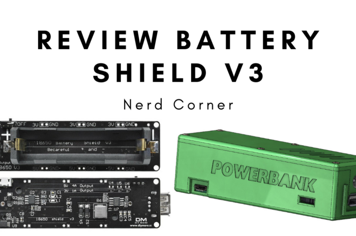 Review Battery Shield V3 – DIY Powerbank with LiPo 18650