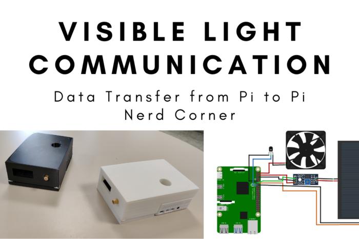 Upgrade: Data transfer via VLC and LiFi – Pi to Pi transfer