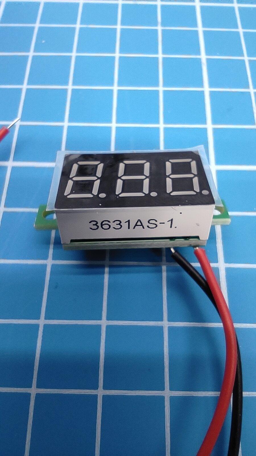 voltmeter 3631AS-1