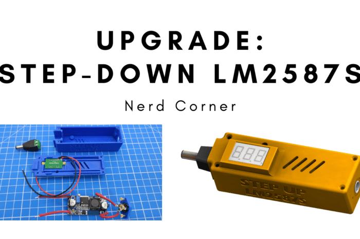 Improved LM2587S voltage converter (Step-Up Modul DC-DC)